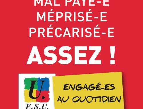 Stage «AED AESH PEC : Vos droits» organisé par le SNES-FSU Montpellier et le SNUipp-FSU 11