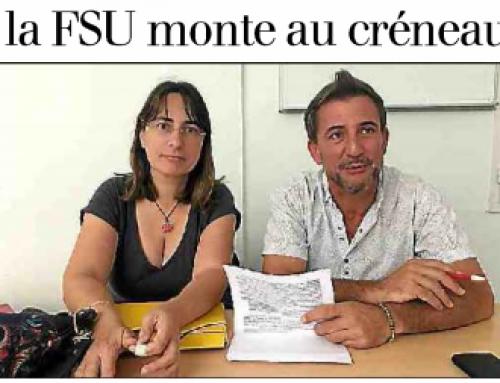 La FSU dénonce les classes ULIS surchargées
