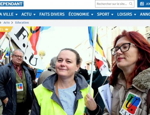 La grève du 12 novembre dans la presse