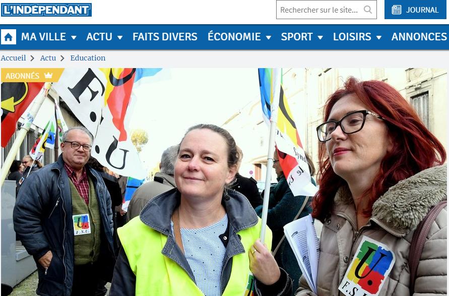 748fe4672c5 La grève du 12 novembre dans la presse - fsu11