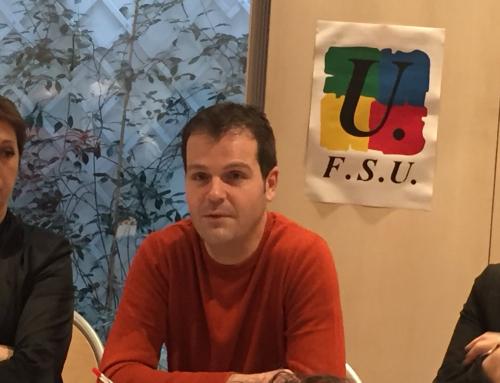 Stage syndical FSU sur la réforme des retraites lundi 2 décembre à Montpellier