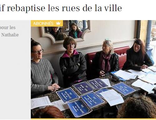 Le Collectif 11 Droits des Femmes rebaptise les rues de Carcassonne