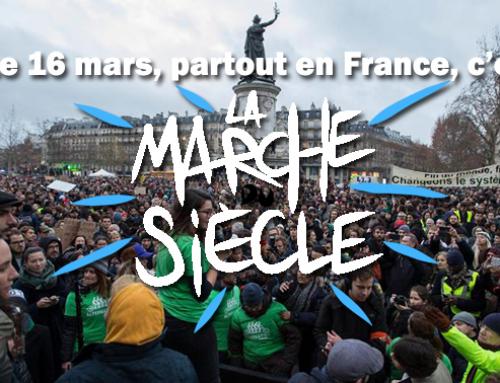 La marche du siècle pour le climat le samedi 16 mars