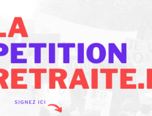 Signez la pétition contre la réforme des retraites !