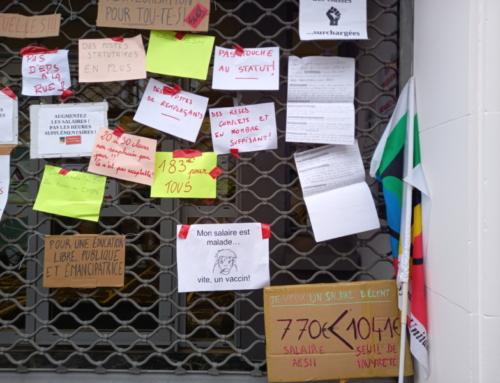 AESH : toutes les raisons de poursuivre et amplifier la mobilisation : grève le 19 octobre