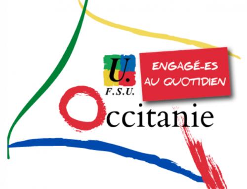 Les politiques régionales : la FSU Occitanie force de propositions !