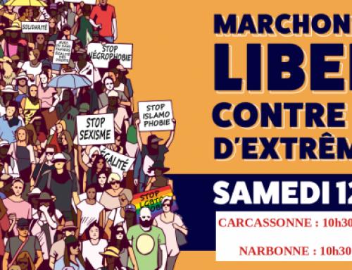 Marche des libertés, contre les idées d'extrême droite